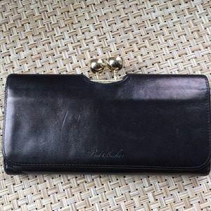 Ted Baker Black Leather Wallet